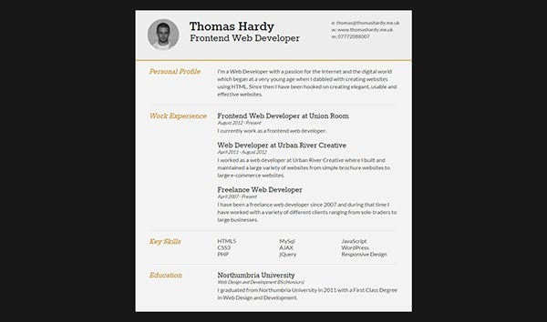 free responsive html