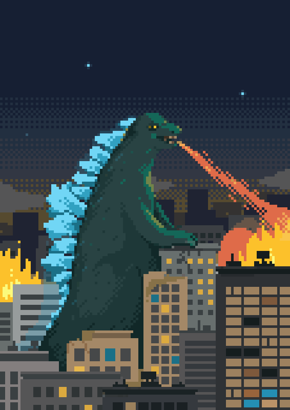 22  amazing pixel art illustrations