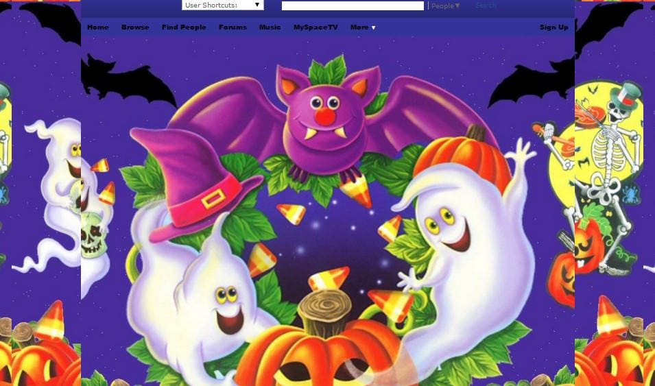 halloween fun myspace layouts myspace halloween fun layouts halloween fun layouts for myspace