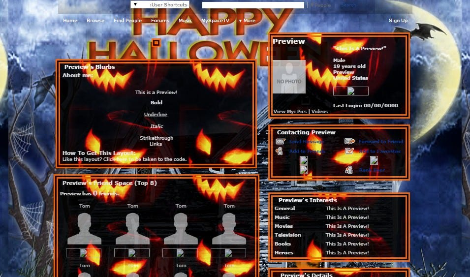 happy hallojack myspace layouts myspace happy hallojack layouts happy hallojack layouts for myspace