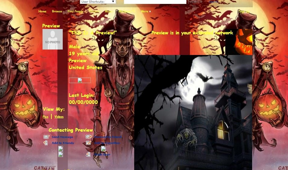 happy halloween part 2 myspace layouts myspace happy halloween part 2 layouts happy halloween part 2 layouts for myspace
