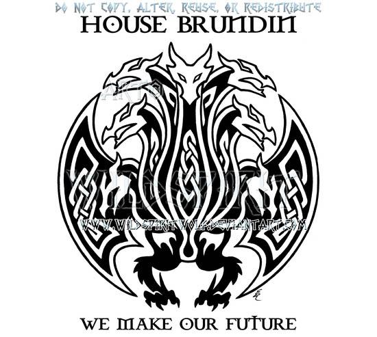 house brundin hydra sigil design