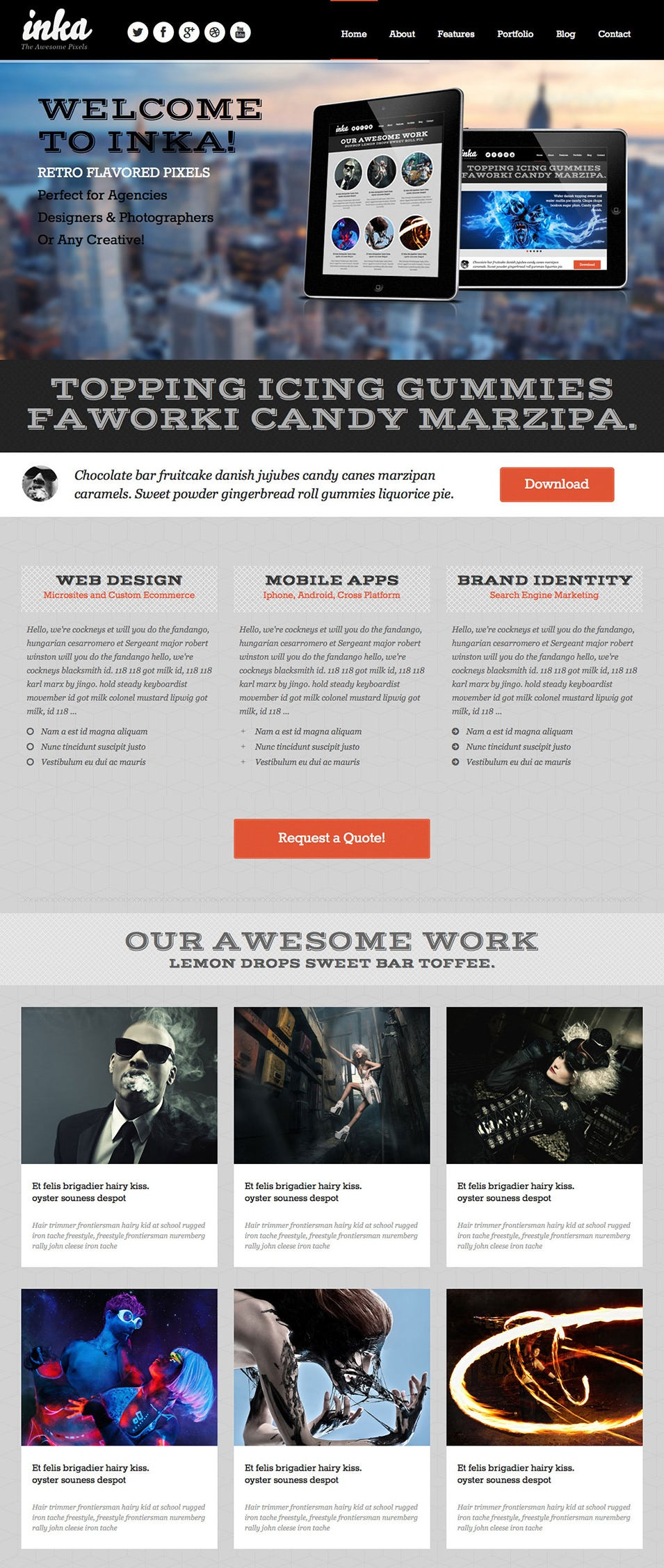 15 Highlight Premium Retro Website Templates Free Premium Templates
