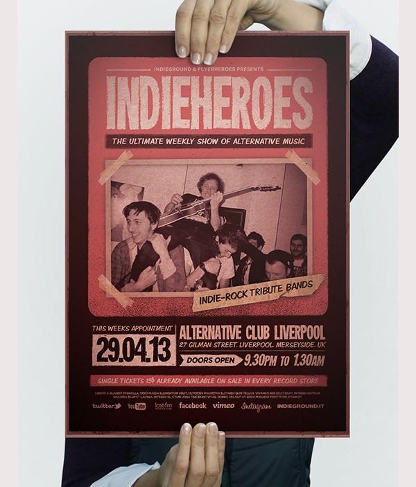 IndieHeroes Flyer