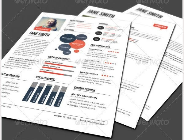 33+ Infographic Resume Templates - Free Sample, Example, Format Download