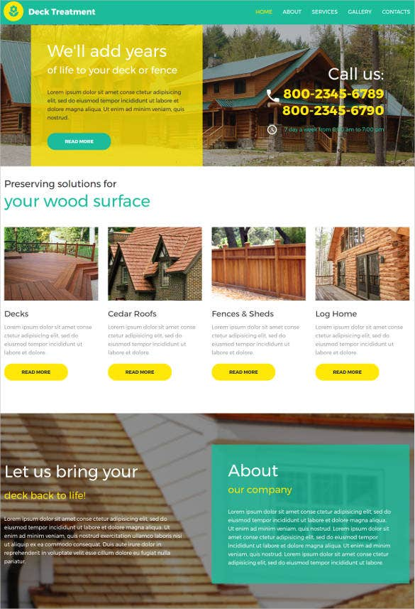 interior design jquery html5 website template