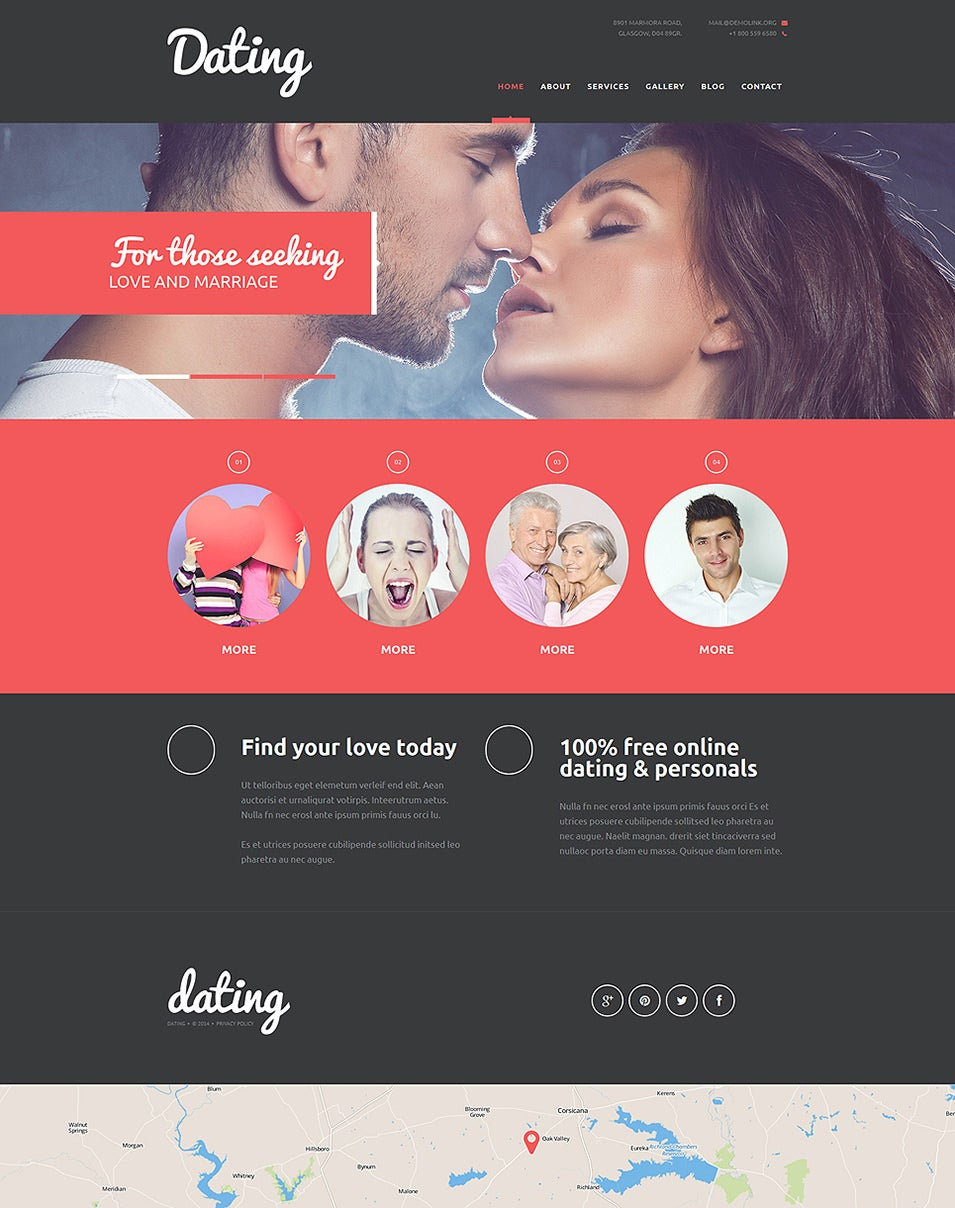 Lifelong Romance Agency Joomla Template