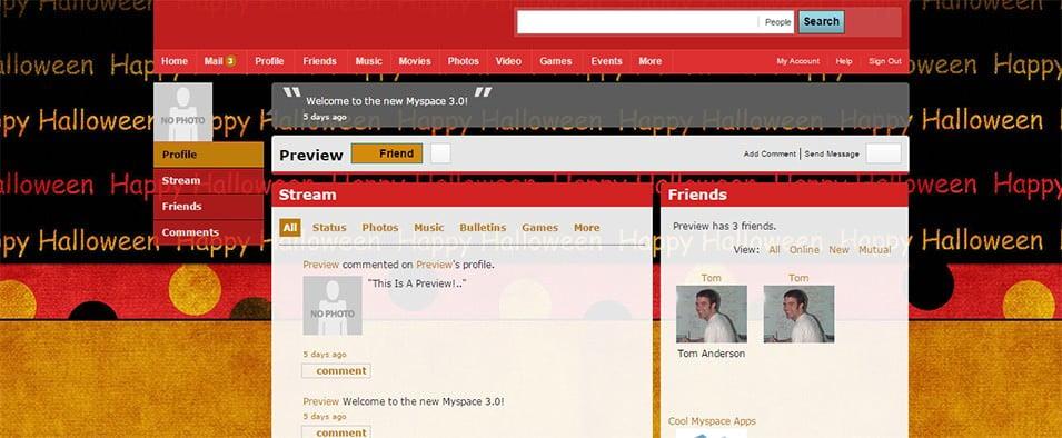 36  myspace halloween themes  u0026 templates