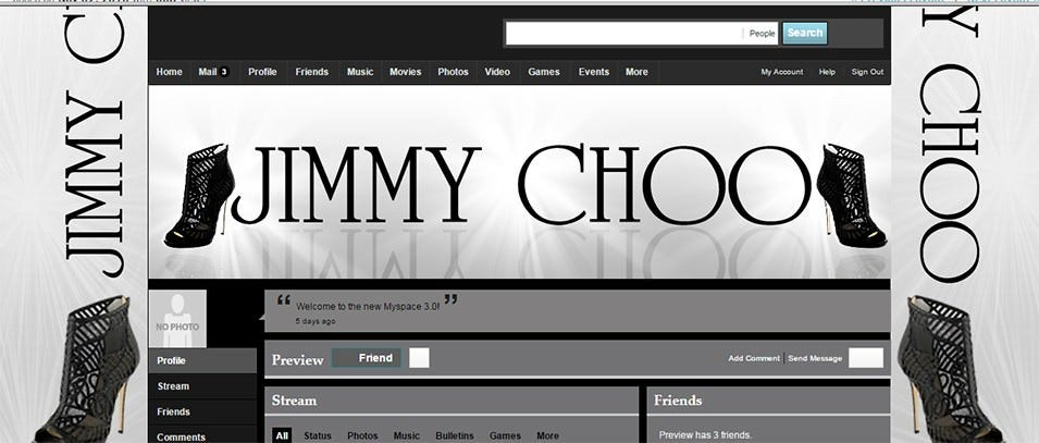 live preview of jimmy choo myspace 2