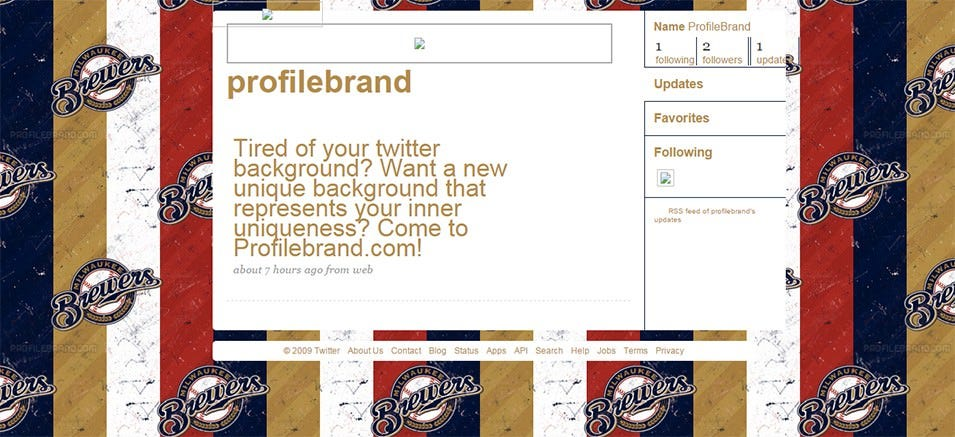 milwaukee brewers sports twitter background
