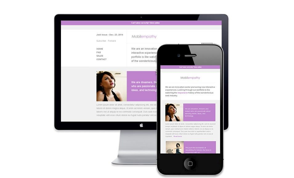 best mobile newsletter templates