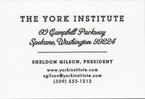 montaigne letterpress pearl white correspondence card