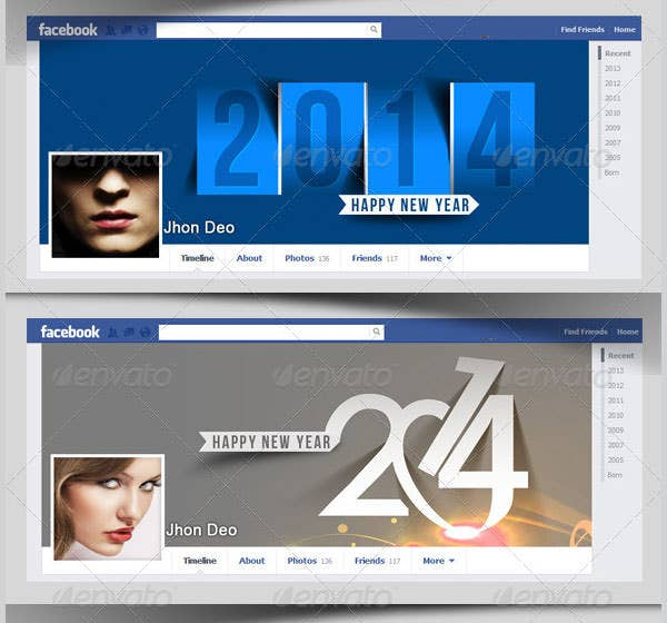 Facebook Timeline Business Template