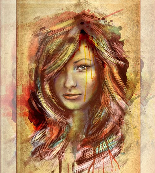 olivia wilde digital painting