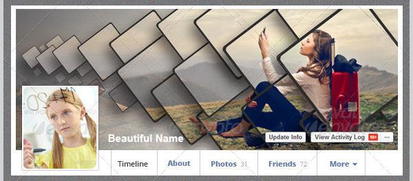one click facebook cover vol
