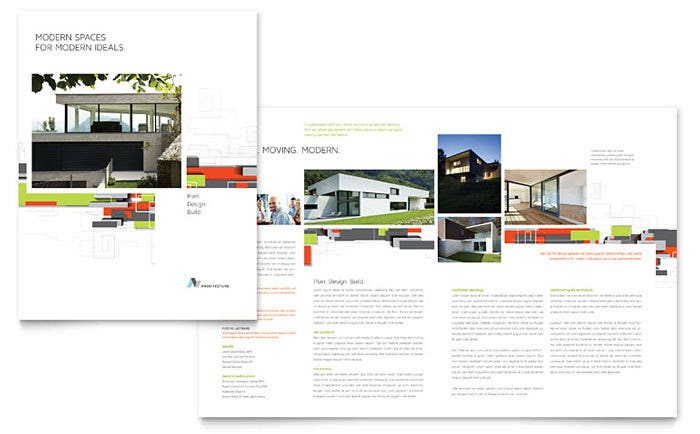 Architectural Design Brochure Template