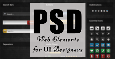 psd web elements for ui designers