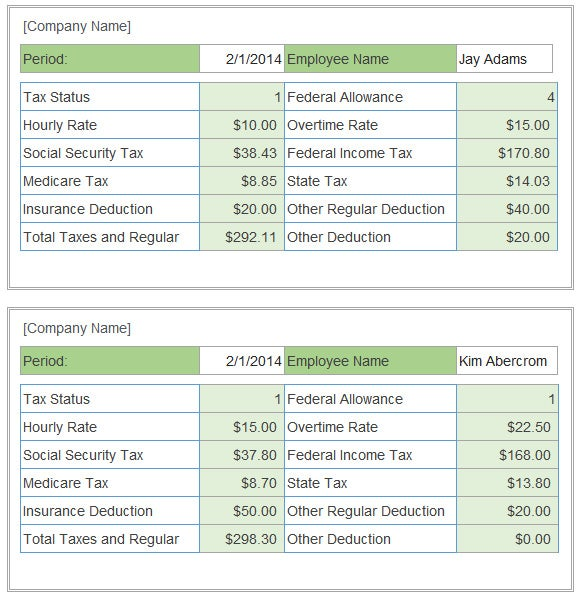 Pay Stub Calculator Templates | 13+ Free Docs, Xlsx & PDF