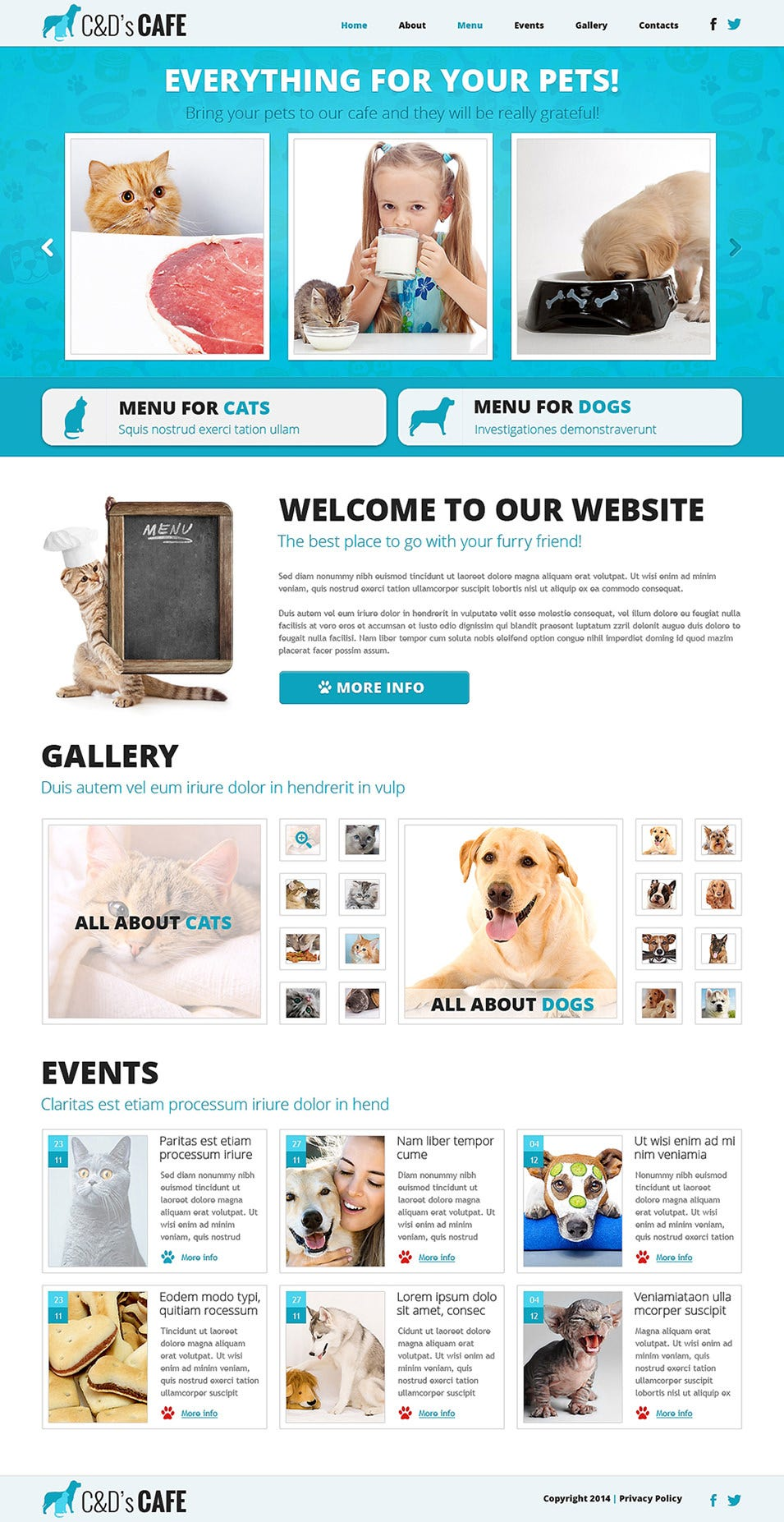Pet Shop Responsive Joomla Template