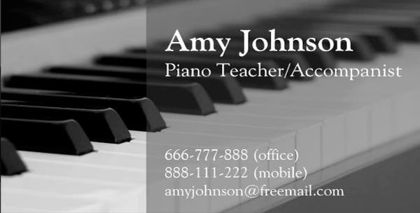 piano teacher business card1