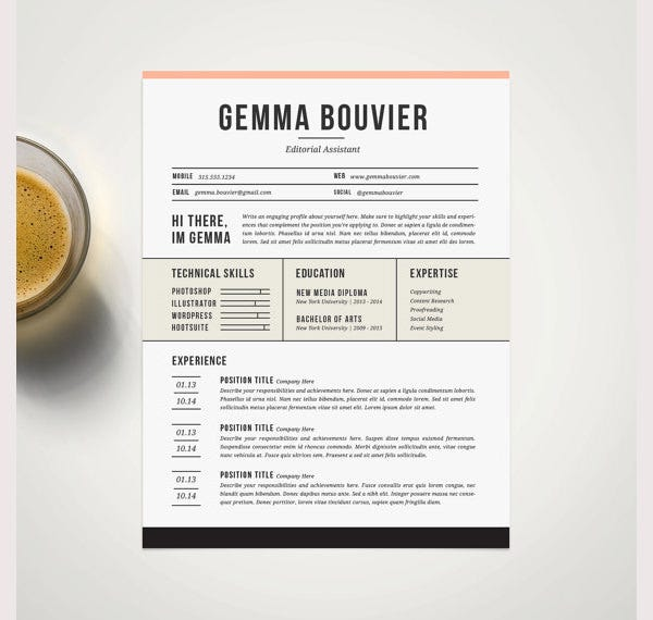 professional resume template and cover letter template for word1