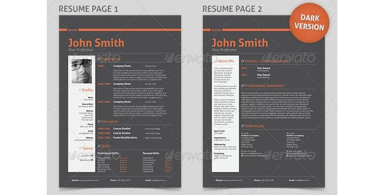 resume example ? 19+ free samples, examples, format download ... - Professional Resume Examples
