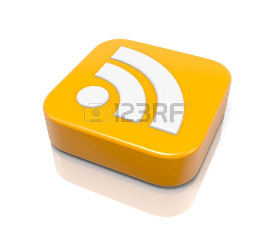 rss feed 3d icon 2