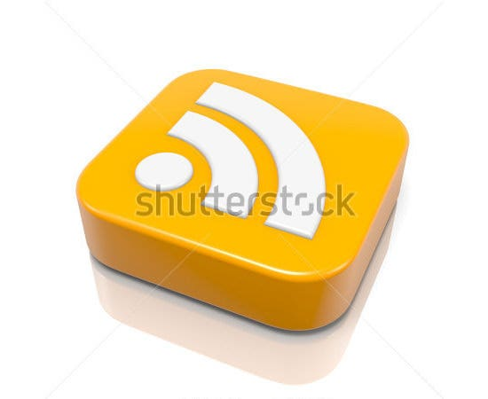 rss feed 3d icon