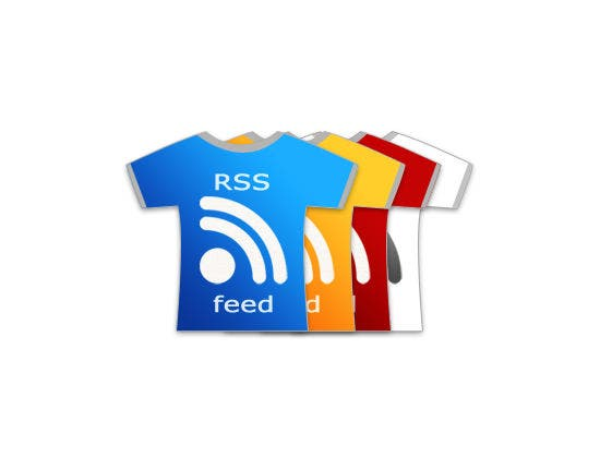 rss feeds icons shirt