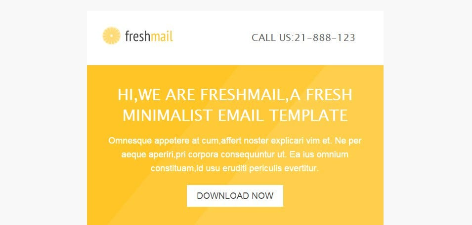 responsive email with template editor