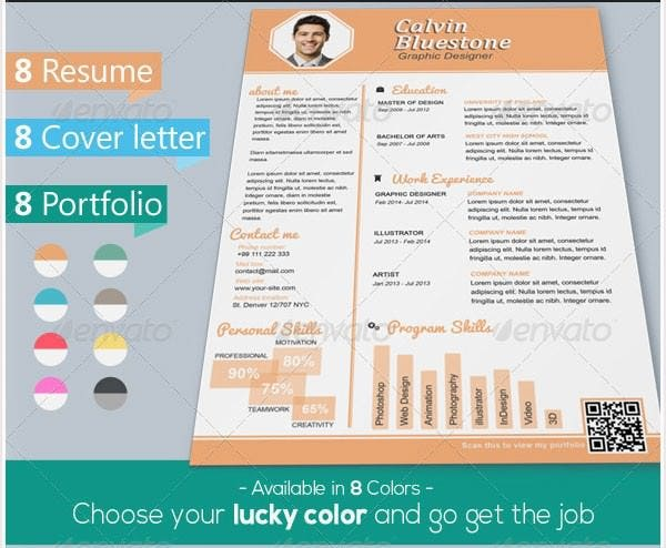 Good Graphic Designer Resume  Attractive Resume Templates
