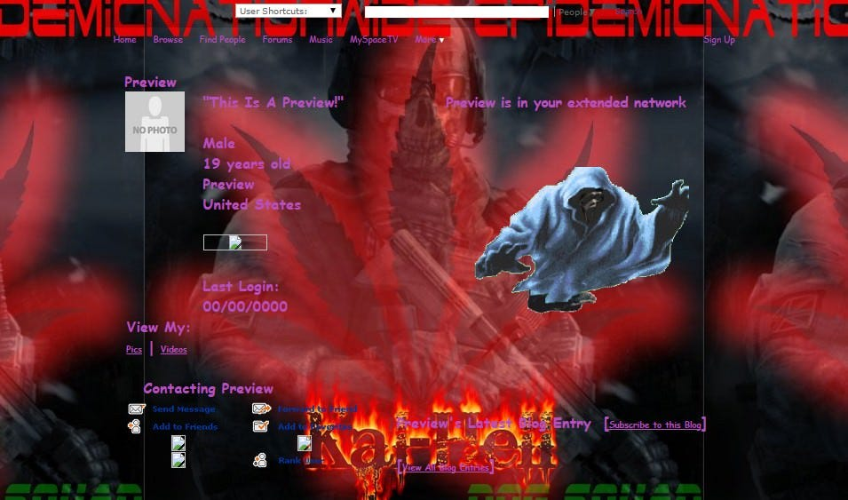 royal halloween part 2 myspace layouts myspace royal halloween part 2 layouts royal halloween part 2 layouts for myspace