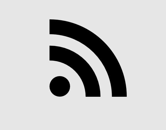 rss feed symbol free icon