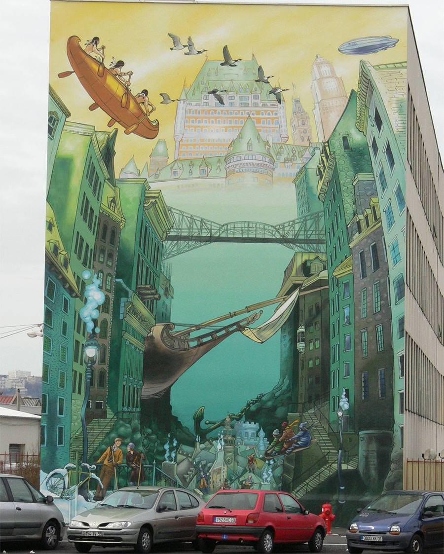 street art in lyon