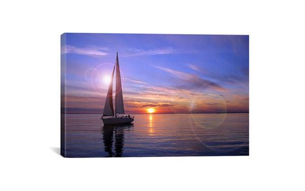 sailboat giclee canvas art print overstock