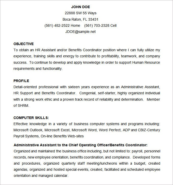 Resume Examples Professional Resume Template Microsoft Word