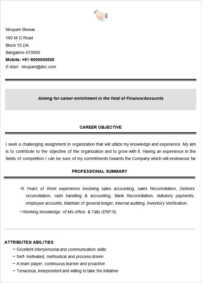 sample b com graduate resume22