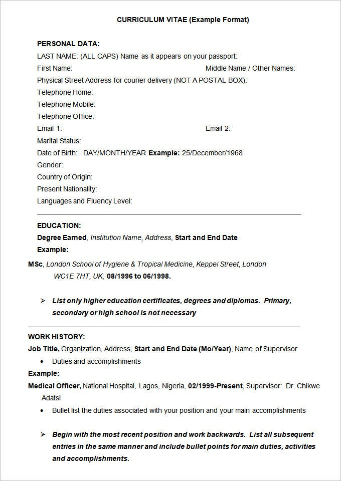 Exciting Free Resume Sample Examples Of Resumes