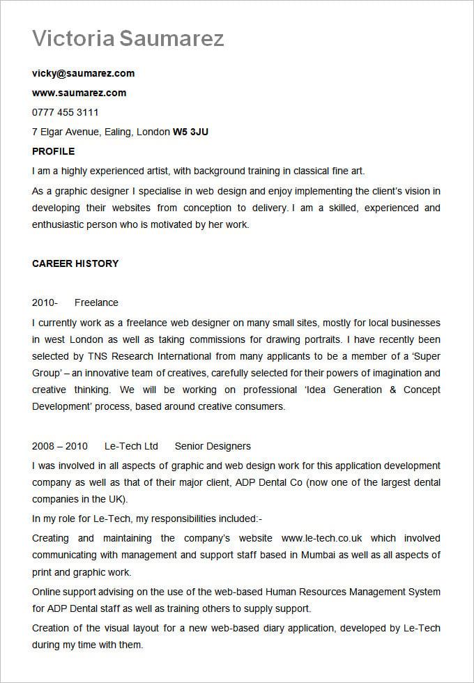 example resume formats - solarfm.tk