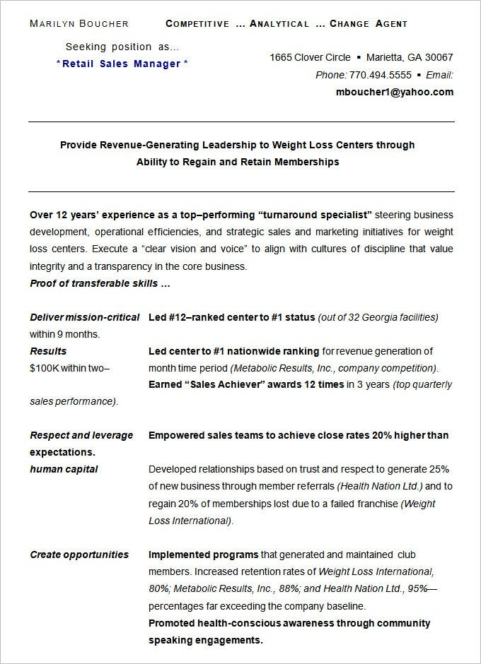 Resume Layout Examples. Examples Of A Chronological Resume Example