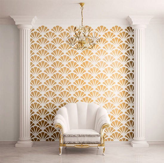 Stencil For Paint : Wall Paint Stencils, Wall Painting Stencils