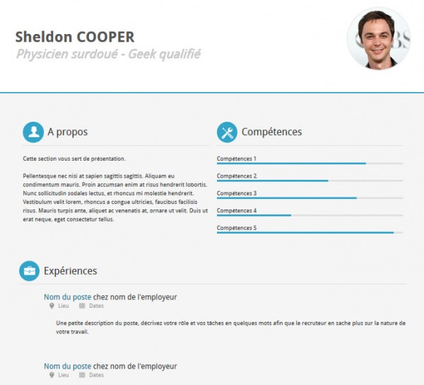 Resume Website Template liquido personal template Simple C Vitae Free Resume