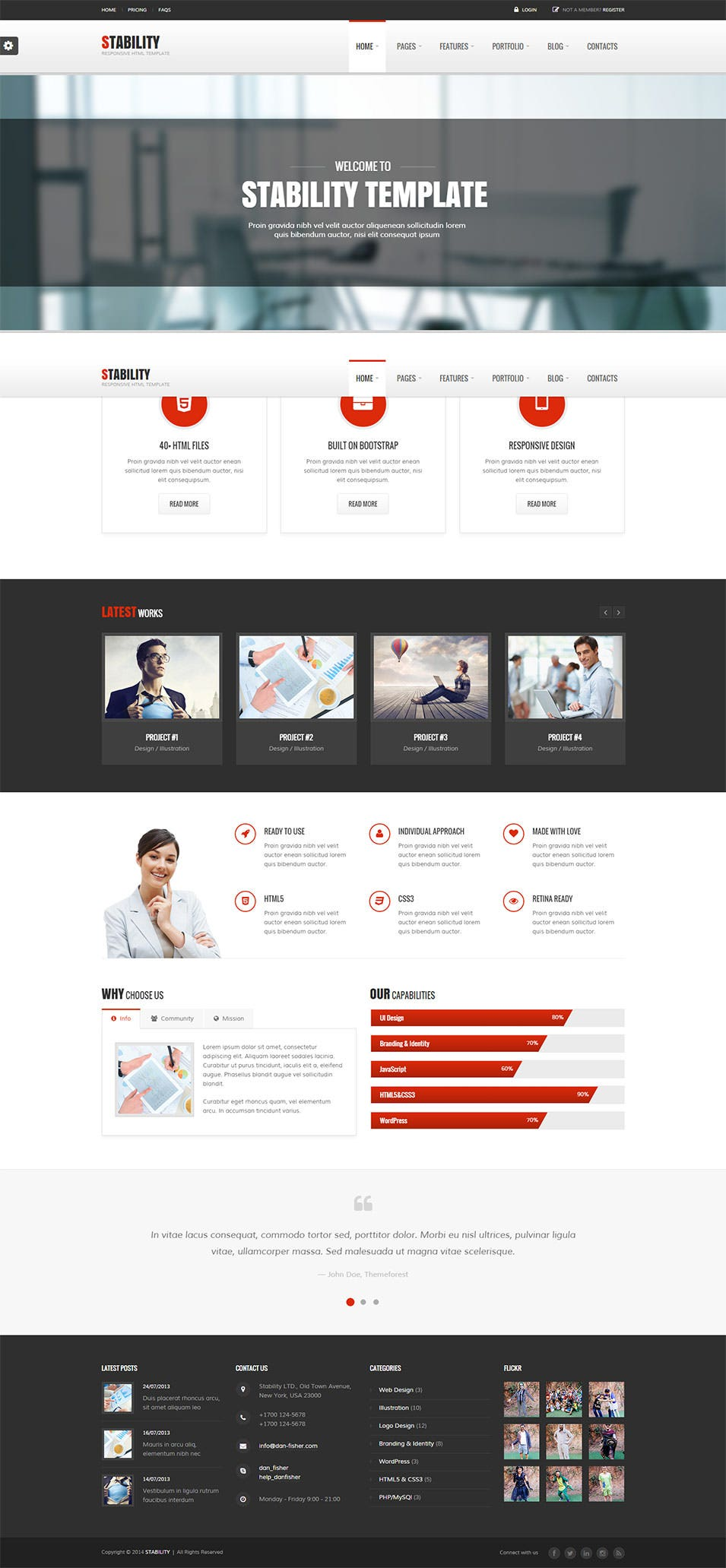 stability css3 theme1