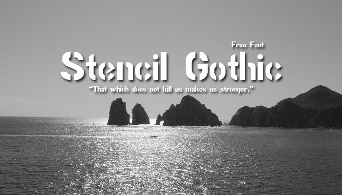 Stencil Gothic