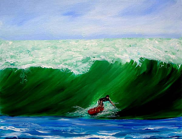 surf s up surfing wave ocean by katy hawk surf s up surfing wave ocean painting surf s up surfing wave ocean fine art prints and posters for sale