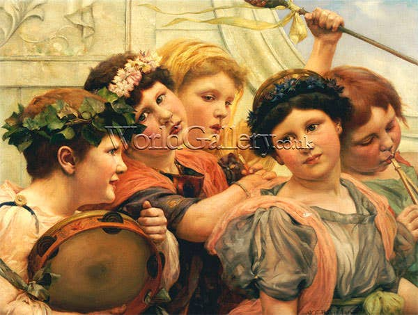 the young musicians art print