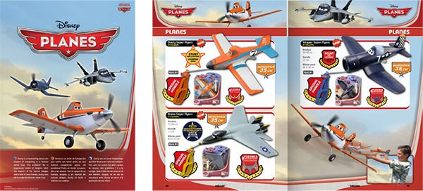 toys and kites catalogs design compilation