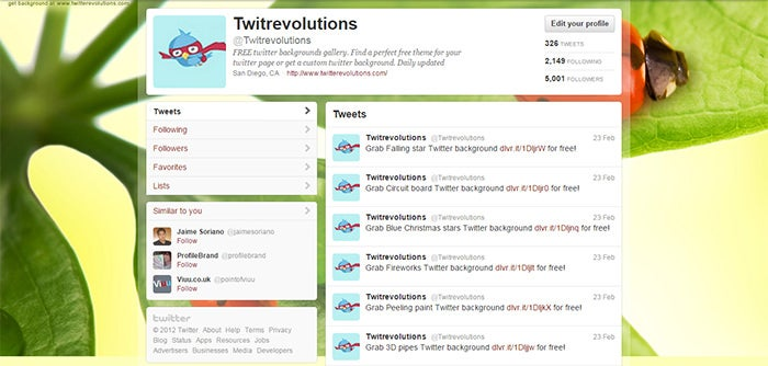 20 best free twitter backgrounds free premium templates