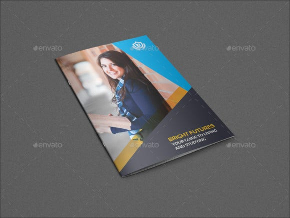 university college brochure template