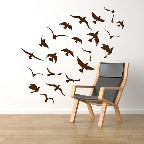 Wall Stickers Designs creative contemporary vinyl wall sticker designs Wall Decor Stickers